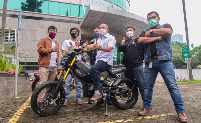 "Wow…""ELBIKE"" Hasil Karya Corporate Innovation ELNUSA Siap Dikenalkan"
